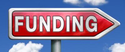 funding road sign arrow